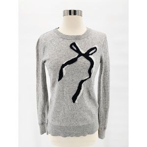 BANANA REPUBLIC Filpucci Cashmere Bow Sweater Sz S